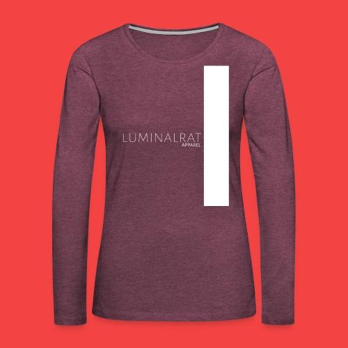 LuminalRat Apparel classic - Women's Premium Long Sleeve T-Shirt