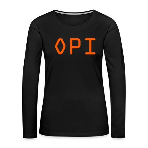 OPI Shirt - Women's Premium Long Sleeve T-Shirt