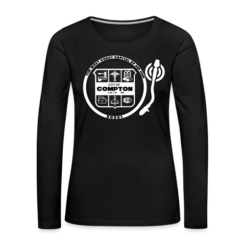 City of Compton - Women's Premium Slim Fit Long Sleeve T-Shirt