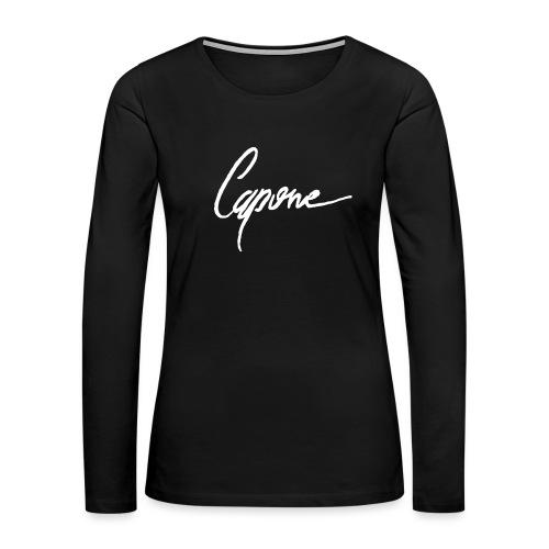 Capore final2 - Women's Premium Long Sleeve T-Shirt