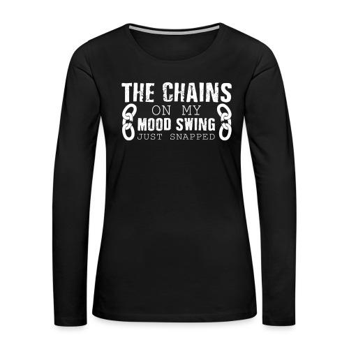 Mood Swings - Women's Premium Slim Fit Long Sleeve T-Shirt