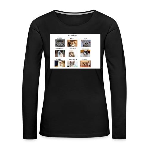 MOOD BOARD - Women's Premium Long Sleeve T-Shirt