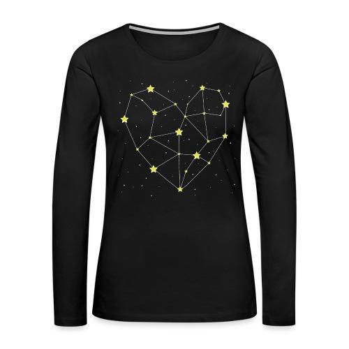 Heart in the Stars - Women's Premium Long Sleeve T-Shirt
