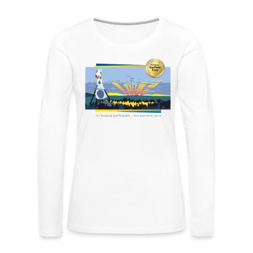 Bentley Blockade - Women's Premium Slim Fit Long Sleeve T-Shirt