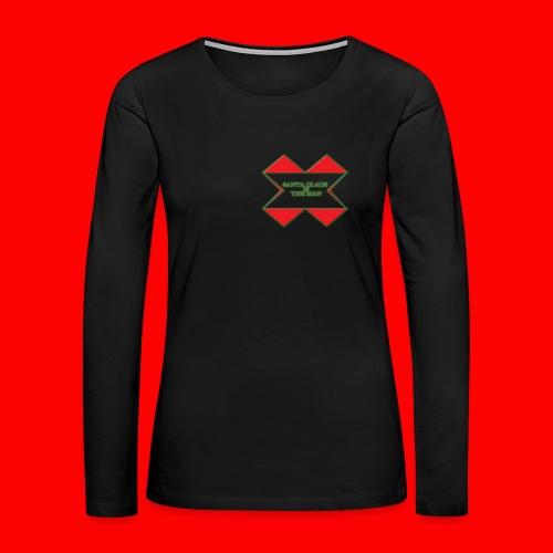 SANTA CLAUS IS THE MAN - Women's Premium Long Sleeve T-Shirt