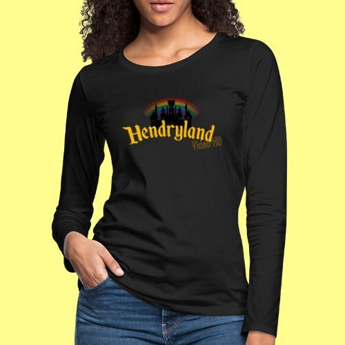 HENDRYLAND logo Merch - Women's Premium Long Sleeve T-Shirt