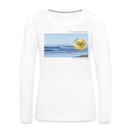 Beach Collection 1 - Women's Premium Slim Fit Long Sleeve T-Shirt