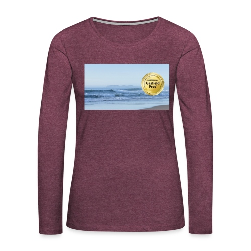 Beach Collection 1 - Women's Premium Slim Fit Long Sleeve T-Shirt
