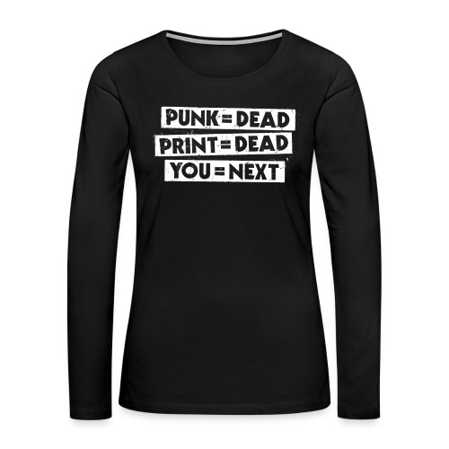You = Next - Women's Premium Long Sleeve T-Shirt
