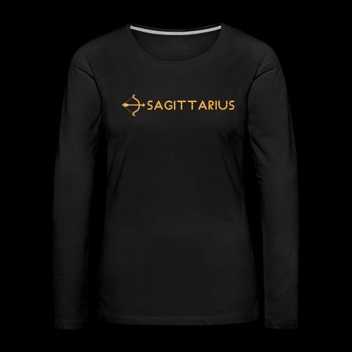 Sagittarius - Women's Premium Slim Fit Long Sleeve T-Shirt