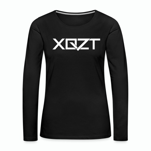 XQZT Logo - Women's Premium Slim Fit Long Sleeve T-Shirt