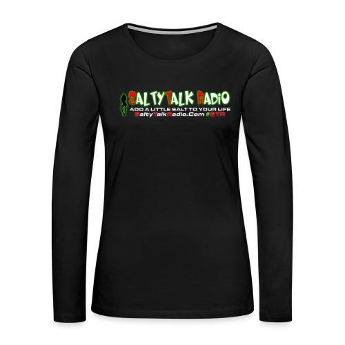 str front png - Women's Premium Slim Fit Long Sleeve T-Shirt