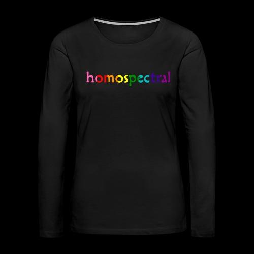 homospectral - Women's Premium Slim Fit Long Sleeve T-Shirt