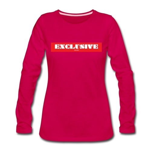 exclusive - Women's Premium Long Sleeve T-Shirt
