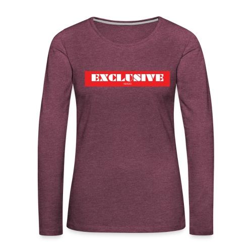 exclusive - Women's Premium Long Sleeve T-Shirt