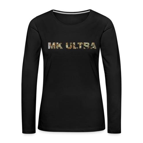 MK ULTRA.png - Women's Premium Slim Fit Long Sleeve T-Shirt