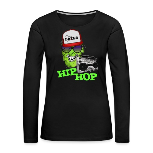 HIP HOP - Women's Premium Long Sleeve T-Shirt
