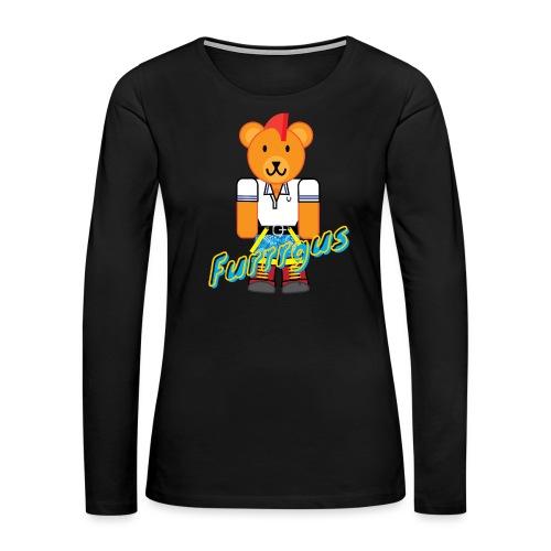 Skinhead Furrrgus - Women's Premium Long Sleeve T-Shirt