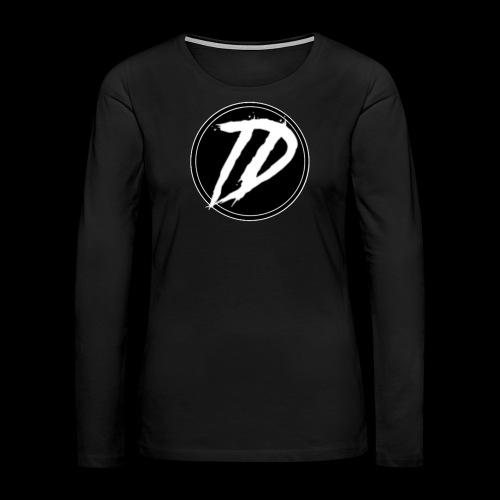 Team DEBUG Logo - Women's Premium Slim Fit Long Sleeve T-Shirt