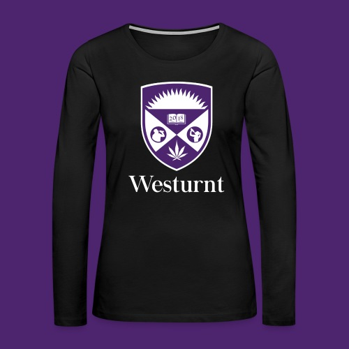 Westurnt (Coat of Arms) - Clothing - Women's Premium Slim Fit Long Sleeve T-Shirt
