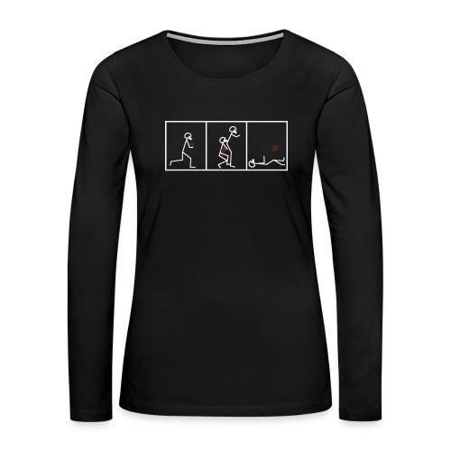 BUTTFUMBLE 6 (With Cartoon) - Women's Premium Long Sleeve T-Shirt