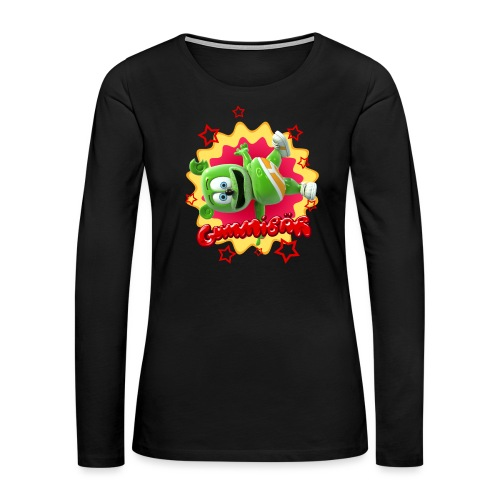 Gummibär Starburst - Women's Premium Long Sleeve T-Shirt