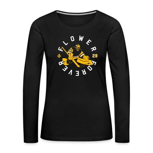 Flower Forever - Women's Premium Slim Fit Long Sleeve T-Shirt