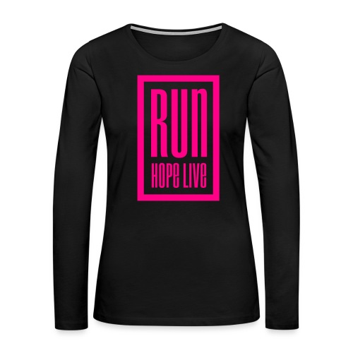 logo transparent background png - Women's Premium Slim Fit Long Sleeve T-Shirt