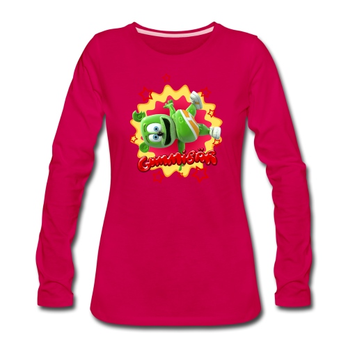 Gummibär Starburst - Women's Premium Long Sleeve T-Shirt