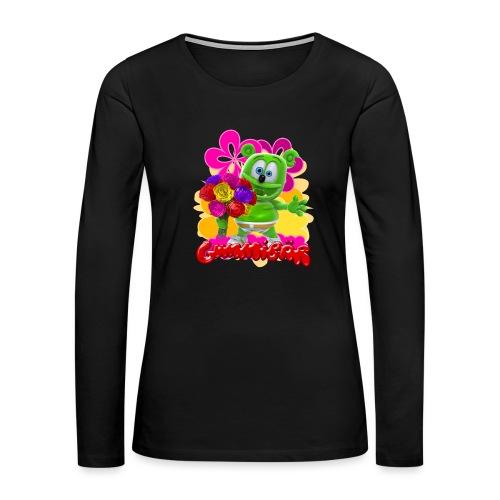 Gummibär Flowers - Women's Premium Long Sleeve T-Shirt