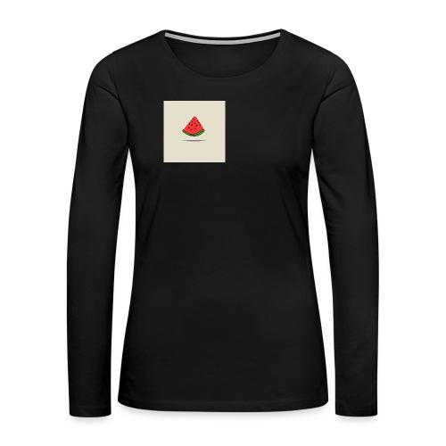 Coastal Watermelon - Women's Premium Long Sleeve T-Shirt