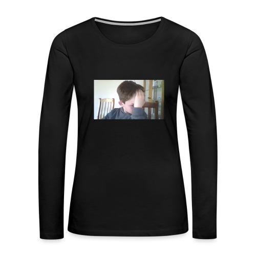 Luiz FAce!! - Women's Premium Long Sleeve T-Shirt