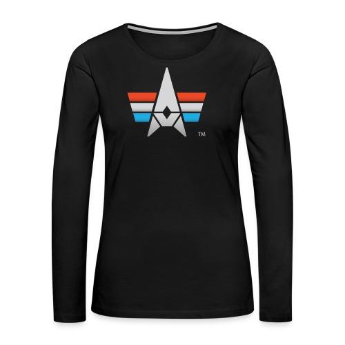 BHK Icon full color stylized TM - Women's Premium Long Sleeve T-Shirt