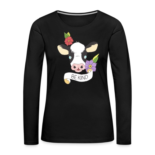 Be kind - Women's Premium Long Sleeve T-Shirt