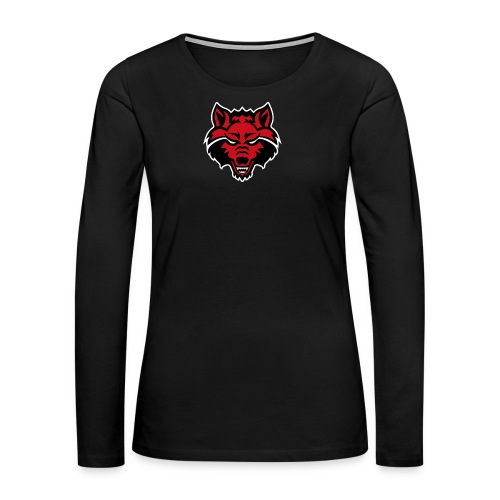 Red Wolf - Women's Premium Long Sleeve T-Shirt