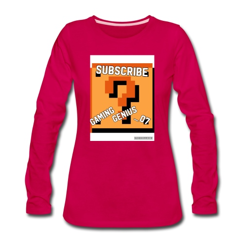 3D6EA904 FEFF 44FB A3E8 8EEFFBFDB252 - Women's Premium Long Sleeve T-Shirt