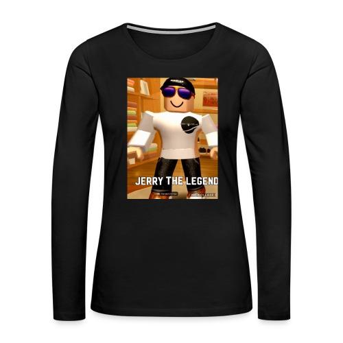 62B98A55 002B 4694 8CC5 5AE95912D45D - Women's Premium Long Sleeve T-Shirt