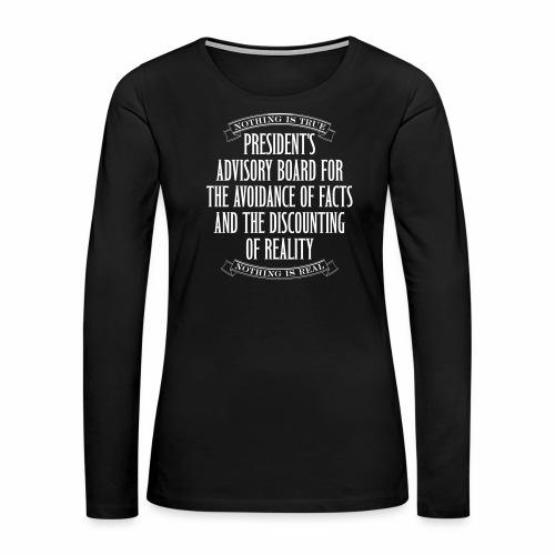 Nothing is True - Women's Premium Long Sleeve T-Shirt