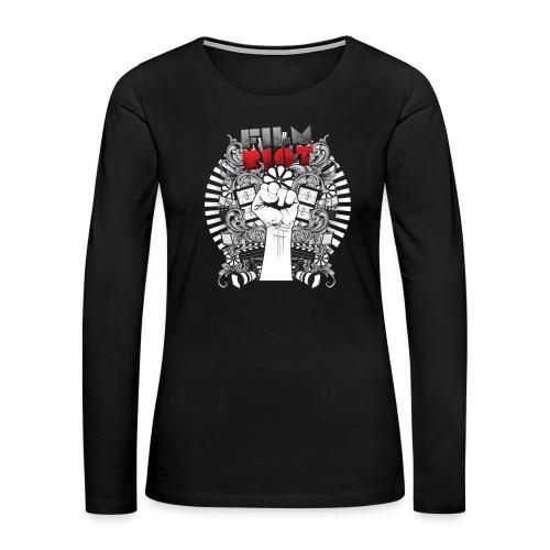 Film Riot - Women's Premium Slim Fit Long Sleeve T-Shirt