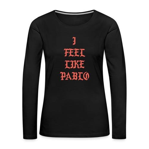 Pablo - Women's Premium Long Sleeve T-Shirt