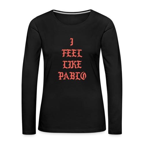 Pablo - Women's Premium Slim Fit Long Sleeve T-Shirt