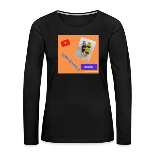 Luke Gaming T-Shirt - Women's Premium Long Sleeve T-Shirt