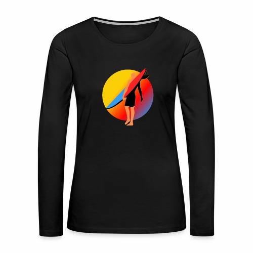 SURFER - Women's Premium Long Sleeve T-Shirt