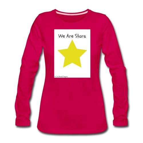 Hi I'm Ronald Seegers Collection-We Are Stars - Women's Premium Long Sleeve T-Shirt