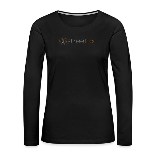 Urban Explorer StreetPX Logo - Women's Premium Long Sleeve T-Shirt