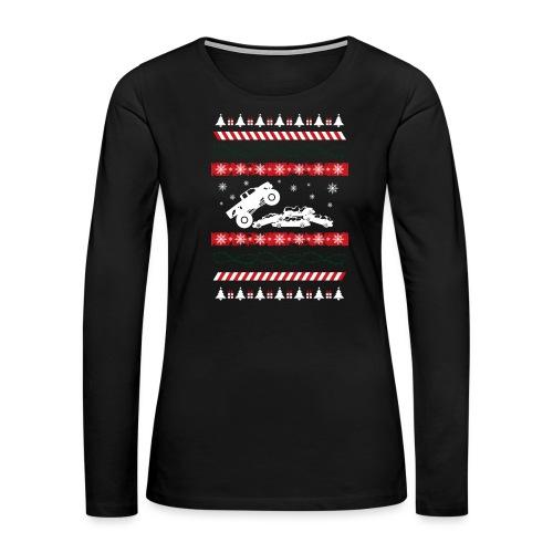 Ugly Christmas Monster - Women's Premium Long Sleeve T-Shirt