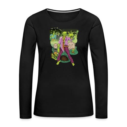 Zombies! - Women's Premium Long Sleeve T-Shirt