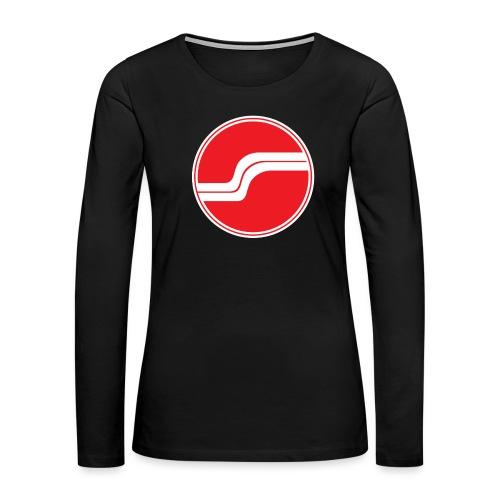dassauna logoA png - Women's Premium Long Sleeve T-Shirt