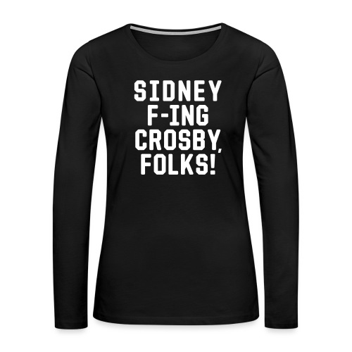 Folks! - Women's Premium Slim Fit Long Sleeve T-Shirt