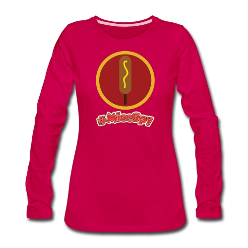 Corn Dog Castle Explorer Badge - Women's Premium Long Sleeve T-Shirt